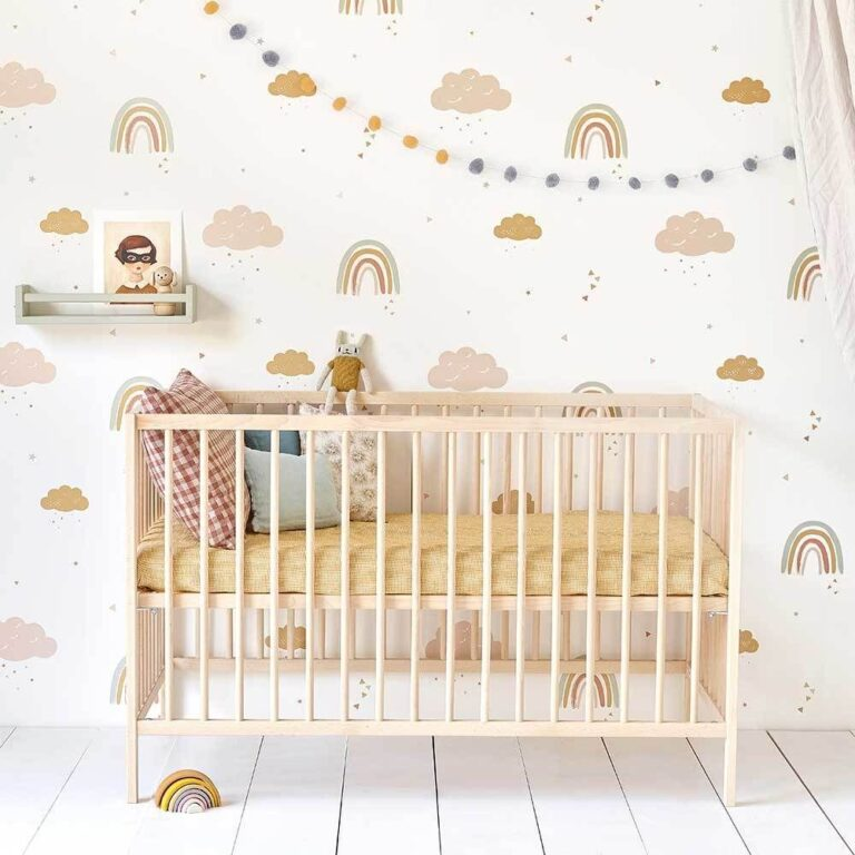 bebek odası duvar kağıdı