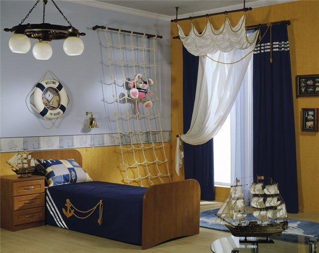 Erkek Çocuk Yatak Odası Tasarım Fikirleri