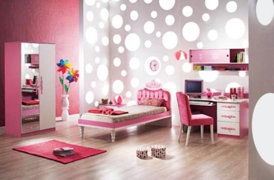 Genç Kızlar Odaları İçin Tasarım İpuçları