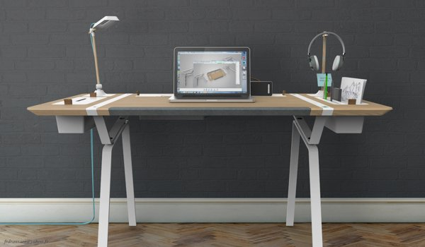 Göz Alıcı Home Ofis Masa Tasarımları