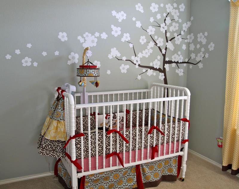 İnanılmaz Tatlılıkta Bebek Odası Tasarımları