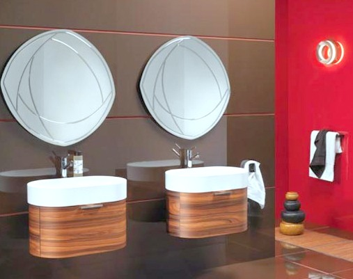 modern lavabo modelleri mobilya dekorasyon blogu. Black Bedroom Furniture Sets. Home Design Ideas