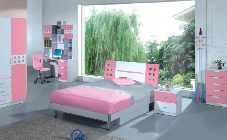 Modern Genç Kız Odası Dekorasyonu