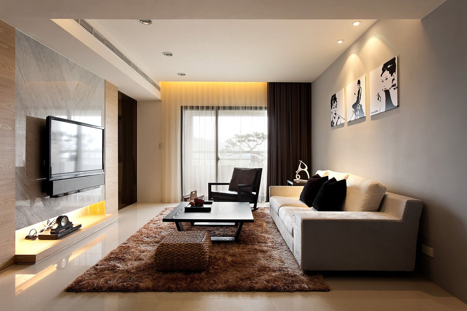 Дизайн общей комнаты в квартире