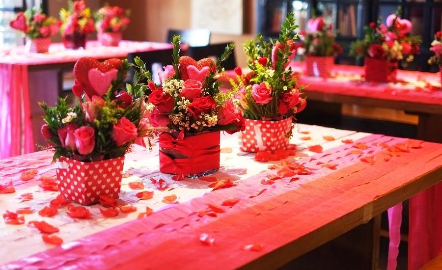 Sevgililer Günü İçin Süsleme Fikirleri